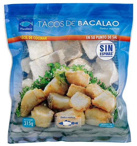 Tacos de bacalao maredeus food solutions especialistas en bacalao congelado - Cocinar bacalao congelado ...