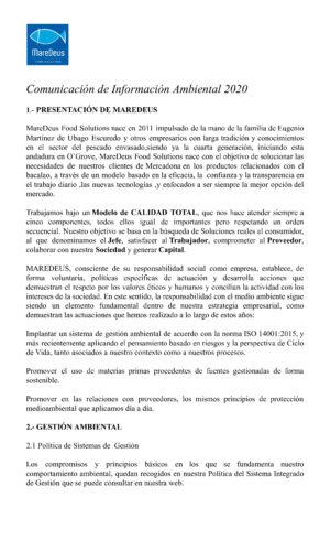 MAREDEUS_Comunicación de Información Ambiental 2020-0