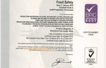 certificado BRC_2016-1
