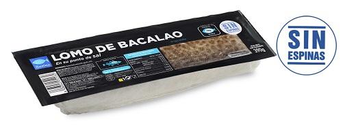 Lomo bacalao sin espinas congelado maredeus